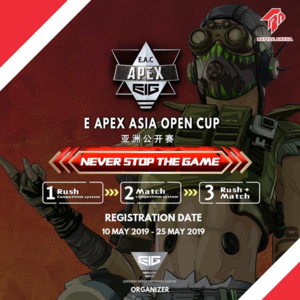 E Apex Asia Open Cup Schedule Bracket Teams And Results
