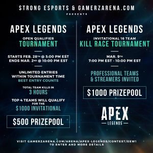 Strong Esports Open Qualifier Bracket Teams And Results
