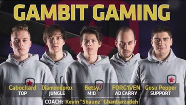 Gambit Gaming - League of Legends Wiki